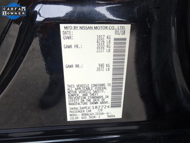 2018 Nissan Altima 2.5 SR Madison, NC 42