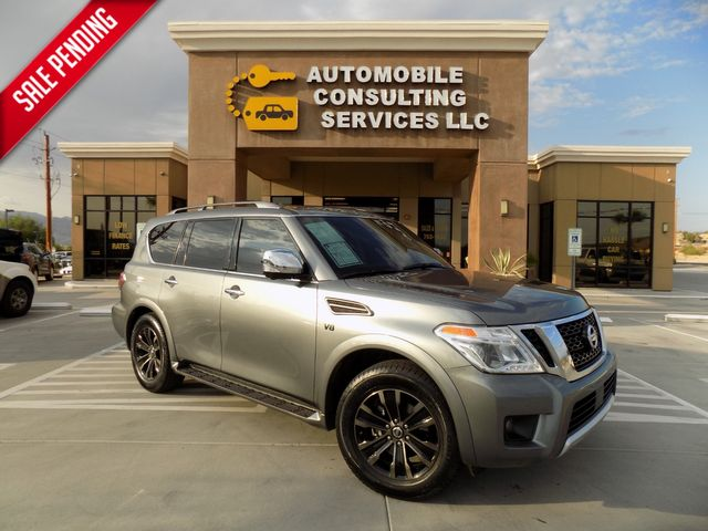 2018 Nissan Armada Platinum in Bullhead City, AZ 86442-6452