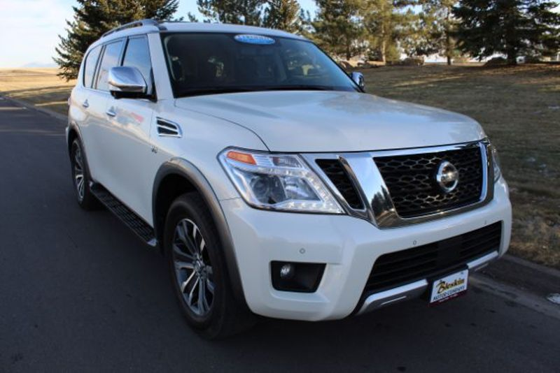 2018 Nissan Armada SL  city MT  Bleskin Motor Company   in Great Falls, MT