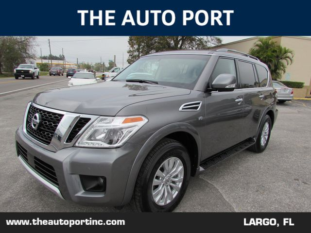 2018 Nissan Armada SV W/NAVI in Largo, Florida 33773