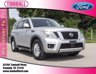 2018 Nissan Armada SV in Tomball, TX 77375
