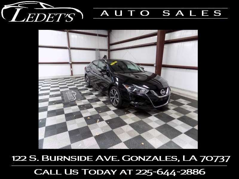 2018 Nissan Maxima SV - Ledet's Auto Sales Gonzales_state_zip in Gonzales Louisiana