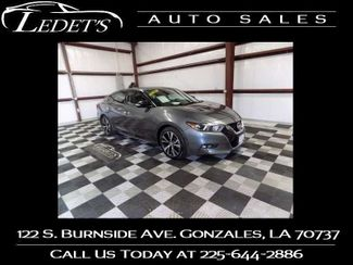 2018 Nissan Maxima SV - Ledet's Auto Sales Gonzales_state_zip in Gonzales