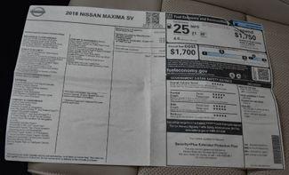 2018 Nissan Maxima SV Waterbury, Connecticut 37