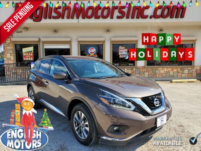 2018 Nissan Murano SV in Brownsville, TX 78521