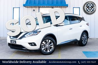 2018 Nissan Murano SV NAV BACKUP CAMERA CLEAN CARFAX BLIND SPOT MONIT in Rowlett