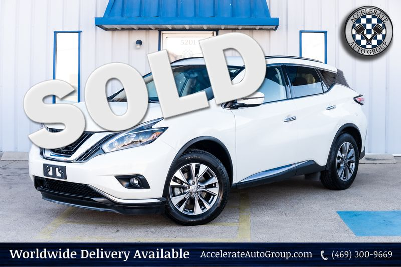 2018 Nissan Murano SV NAV BACKUP CAMERA CLEAN CARFAX BLIND SPOT MONIT in Rowlett Texas