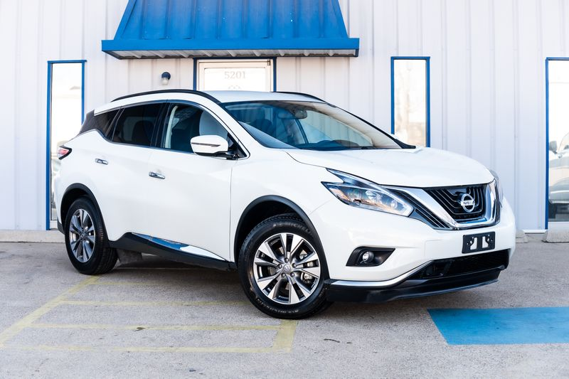 2018 Nissan Murano SV NAV BACKUP CAMERA CLEAN CARFAX BLIND SPOT MONIT in Rowlett, Texas