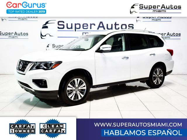 2018 Nissan Pathfinder SV All-Wheel Drive with 3rd Row Seats