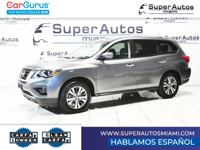 2018 Nissan Pathfinder SV All Wheel Drive with 3rd Row Seats