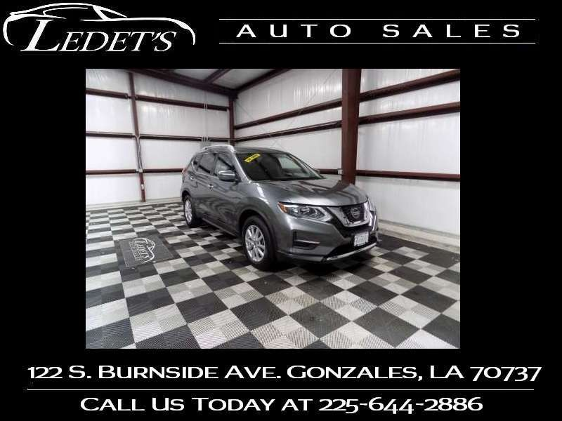 2018 Nissan Rogue SV - Ledet's Auto Sales Gonzales_state_zip in Gonzales Louisiana