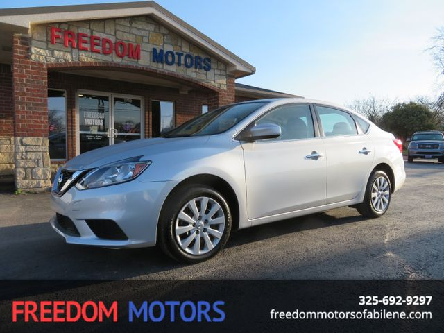 2018 Nissan Sentra S | Abilene, Texas | Freedom Motors  in Abilene,Tx Texas