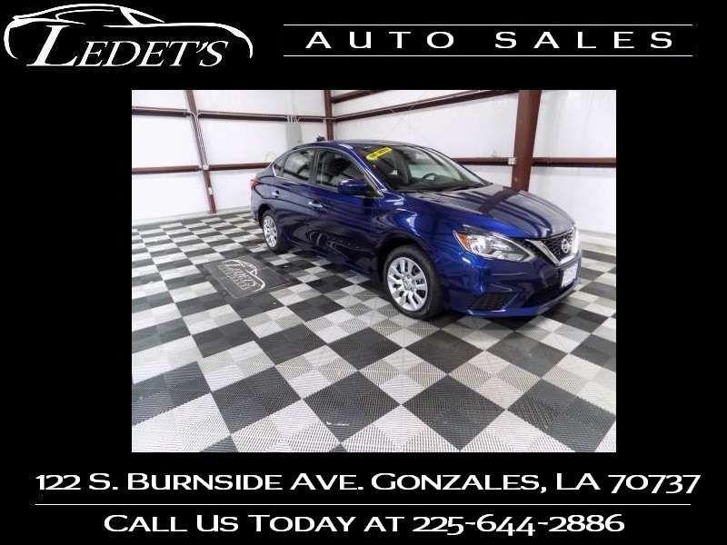 2018 Nissan Sentra S - Ledet's Auto Sales Gonzales_state_zip in Gonzales Louisiana