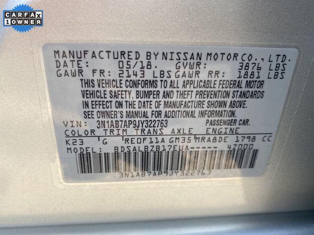 2018 Nissan Sentra S Madison, NC 39