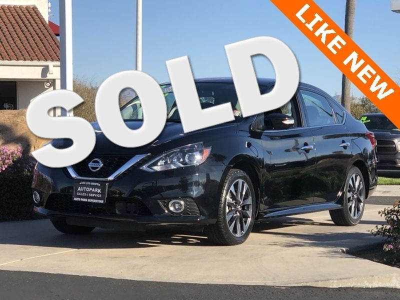 2018 Nissan Sentra SR | San Luis Obispo, CA | Auto Park Sales & Service in San Luis Obispo CA