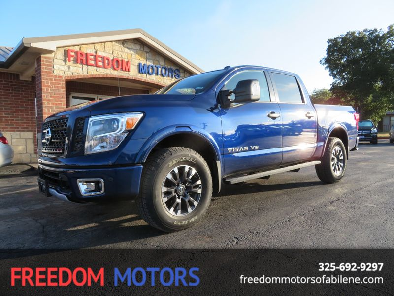 2018 Nissan Titan PRO-4X | Abilene, Texas | Freedom Motors  in Abilene Texas