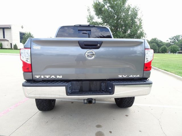 2018 Nissan Titan SV LIFT/CUSTOM WHEELS AND TIRES in McKinney, Texas 75070