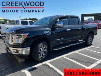 2018 Nissan Titan XD SL Crew Cab 5.6L Black New Tires 1 Owner Low Miles in Searcy, AR 72143