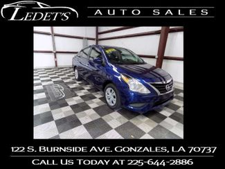 2018 Nissan Versa Sedan SV - Ledet's Auto Sales Gonzales_state_zip in Gonzales