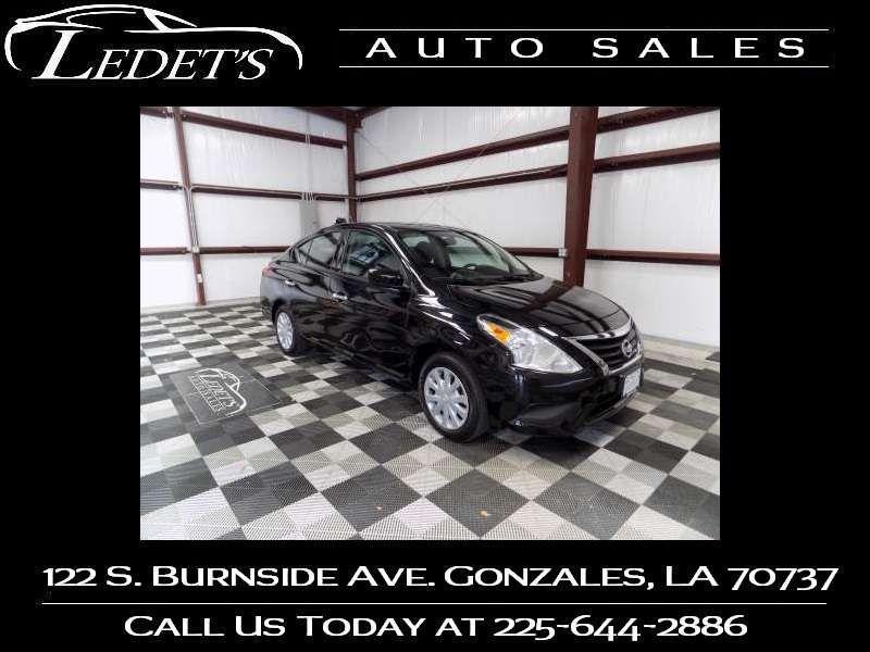 2018 Nissan Versa Sedan SV - Ledet's Auto Sales Gonzales_state_zip in Gonzales Louisiana
