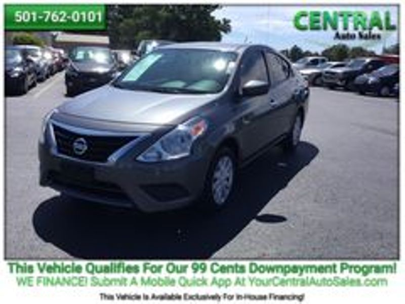 2018 Nissan Versa Sedan SV | Hot Springs, AR | Central Auto Sales in Hot Springs AR