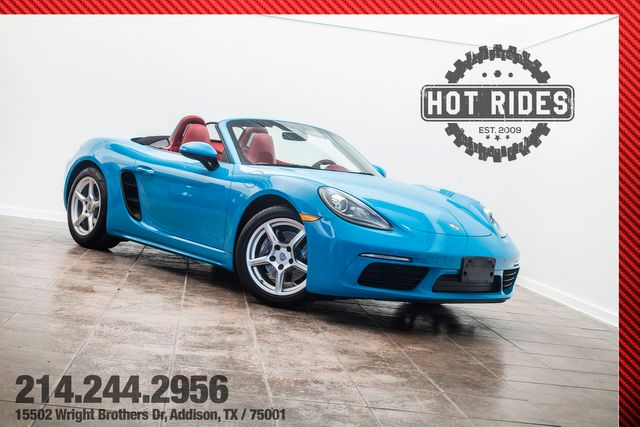 2018 Porsche 718 Boxster in Miami Blue in Carrollton, TX 75001