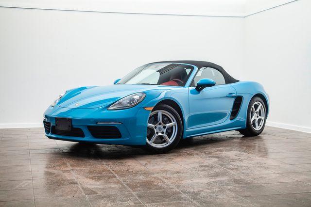 2018 Porsche 718 Boxster in Miami Blue in Addison, TX 75001