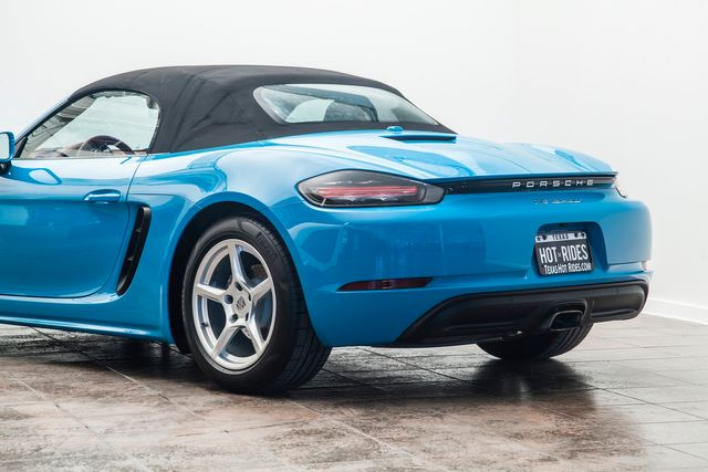 2018 Porsche 718 Boxster in Miami Blue in Addison, TX 75001