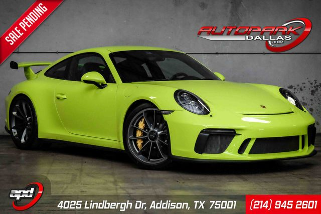 2018 Porsche 911 GT3 Acid Green Paint to Sample 6 speed