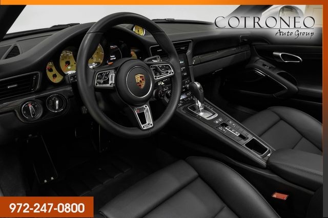 2018 Porsche 911 Turbo S Cab in Addison, TX 75001
