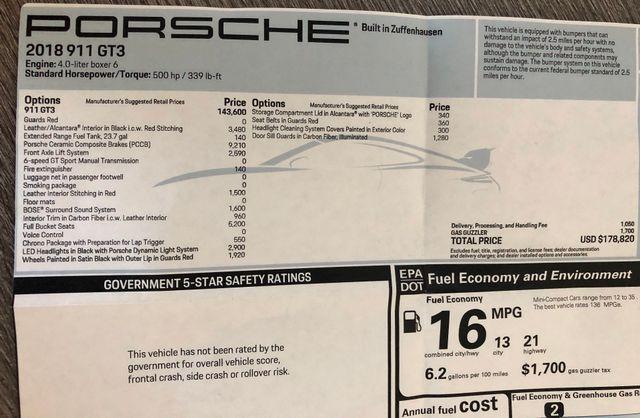 2018 Porsche 911 GT3 Scottsdale, Arizona 38