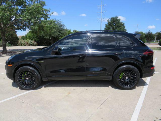 2018 Porsche Cayenne E-Hybrid S Platinum Edition in McKinney, Texas 75070