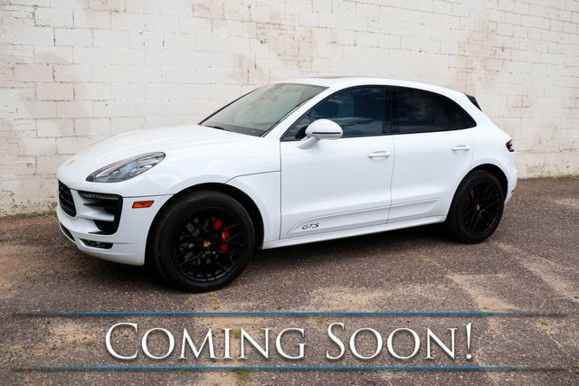 """2018 Porsche Macan GTS AWD Turbo Sport SUV w/Black 20"""" Rims, Heated/Cooled Seats, Panoramic Roof & BOSE"""