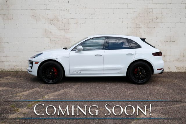 """2018 Porsche Macan GTS AWD Turbo Sport SUV w/Black 20"""" Rims, Heated/Cooled Seats, Panoramic Roof & BOSE in Eau Claire, Wisconsin 54703"""