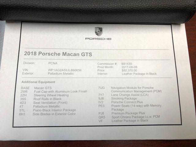2018 Porsche Macan GTS Longwood, FL 45