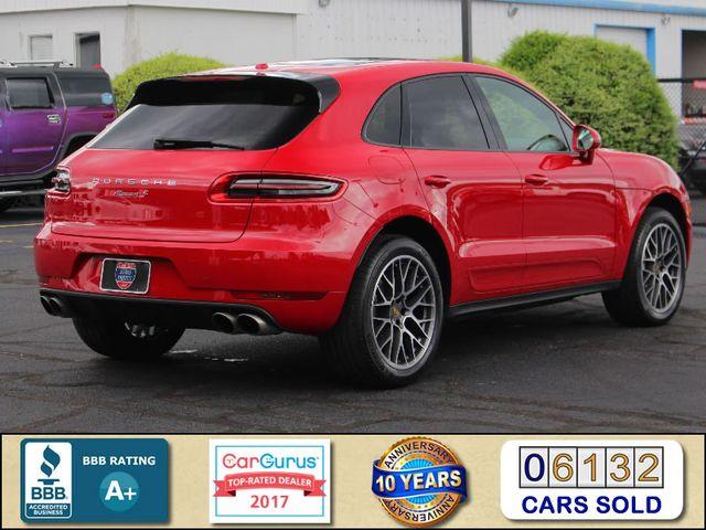 2018 Porsche Macan S AWD - PREMIUM PACKAGE PLUS - NAV - PANO ROOF! Mooresville , NC 2