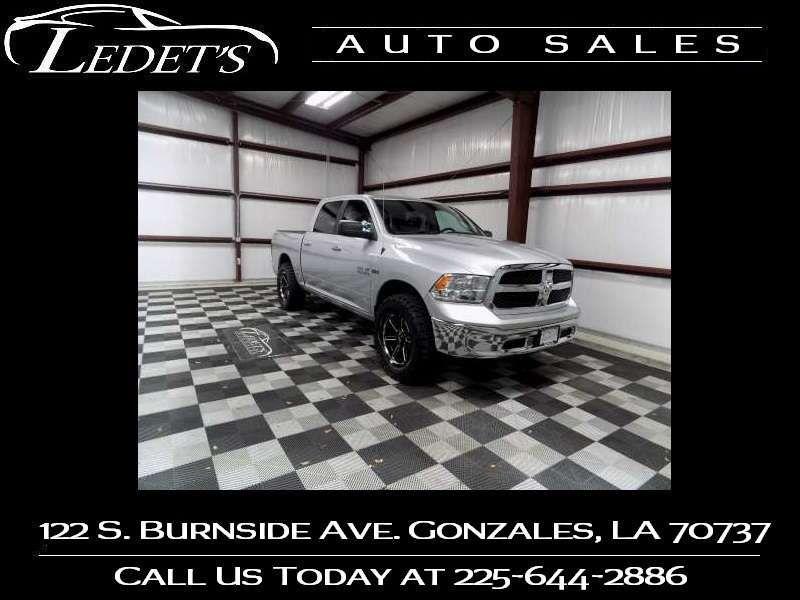 2018 Ram 1500 SLT - Ledet's Auto Sales Gonzales_state_zip in Gonzales Louisiana