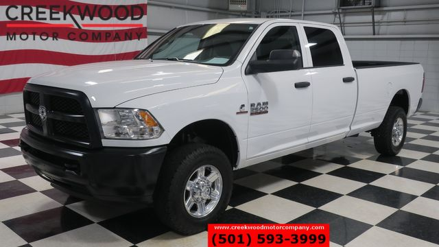2018 Ram 2500 Dodge ST SLT 4x4 Diesel Auto White New Tires Long Bed