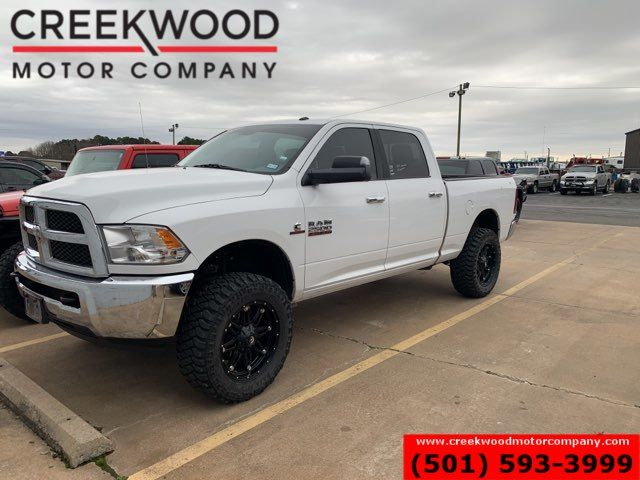2018 Ram 2500 Dodge SLT 4x4 Diesel White 1 Owner Leveled New Tires 20s in Searcy, AR 72143