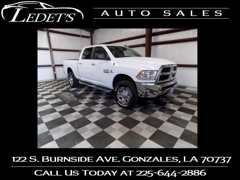 2018 Ram 2500 SLT - Ledet's Auto Sales Gonzales_state_zip in Gonzales Louisiana