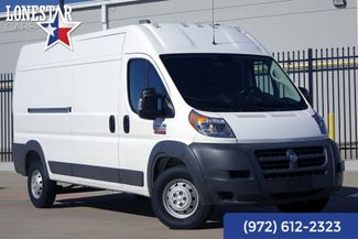 2018 Ram 2500 ProMaster Cargo Van High Roof One Owner Clean Carfax Warranty in Plano Texas, 75093