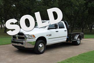 2018 Ram 3500 Crew Cab 4WD Flat Bed Diesel in Marion, Arkansas
