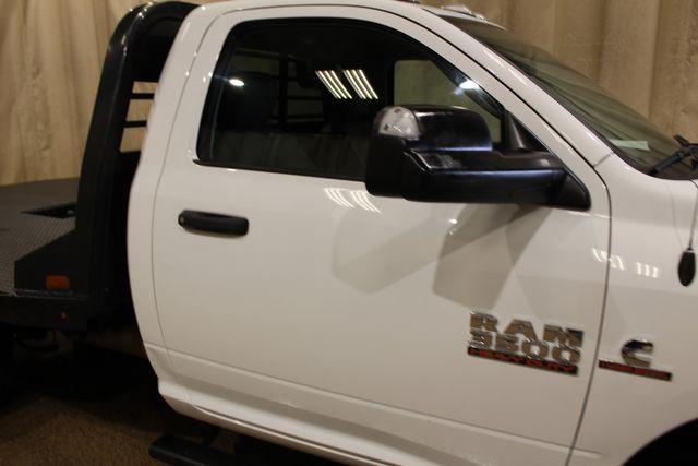 2018 Ram 3500 flat bed Diesel 4x4 Manual Trans Tradesman in Roscoe, IL 61073