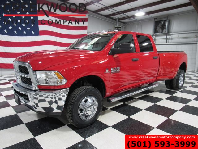 2018 Ram 3500 Dodge ST SLT 4x4 Diesel Auto Dually Red New Tires CLEAN in Searcy, AR 72143