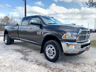 2018 Ram 3500 DRW Laramie Crew Cab 4X4 6.7L Cummins Diesel Aisin Auto in Sealy, Texas 77474