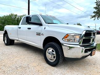 2018 Ram 3500 DRW Tradesman Crew Cab 4X4 6.7L Cummins Diesel 6 Speed Manual in Sealy, Texas 77474