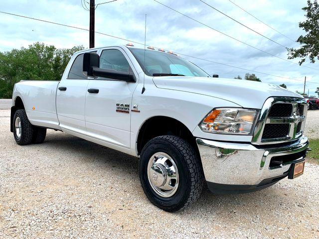 2018 Ram 3500 DRW Tradesman Crew Cab 4X4 6.7L Cummins Diesel 6 Speed Manual in Sealy, Texas 77474