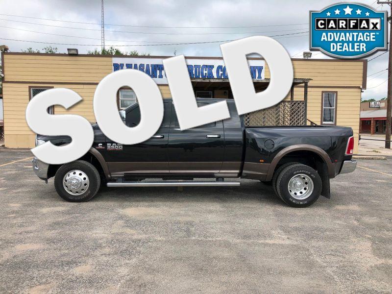 2018 Ram 3500 Laramie   Pleasanton, TX   Pleasanton Truck Company in Pleasanton TX
