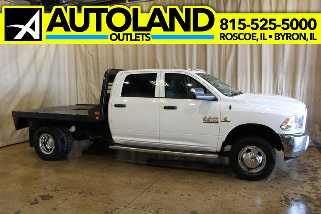 2018 Ram 3500 Tradesman Cab 4x4 Long Box Cab & Chassis Diesel in Roscoe, IL 61073
