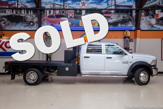 2018 Ram 4500 Chassis Cab Tradesman 4x4 in Addison, Texas 75001